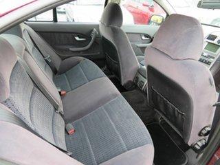 2004 Ford Fairmont BA MkII Red 4 Speed Auto Seq Sportshift Sedan