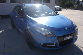 2013 Renault Megane III K95 MY13 Sport Sportwagon GT 220 Blue 6 Speed Manual Wagon.