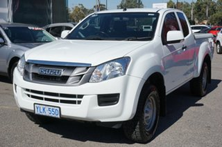 2016 Isuzu D-MAX MY15.5 SX Space Cab 4x2 High Ride White 5 Speed Sports Automatic Utility