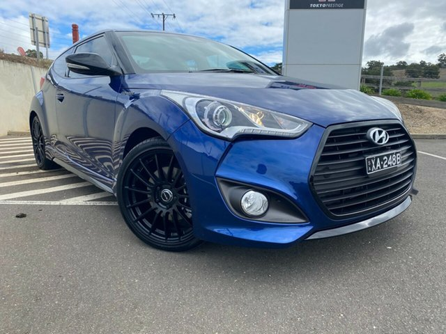 Used Hyundai Veloster FS5 Series II Street Coupe D-CT Totness, 2016 Hyundai Veloster FS5 Series II Street Coupe D-CT Dazzling Blue/blue 7 Speed