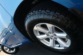 2008 Toyota Kluger GSU45R KX-R AWD Blue 5 Speed Sports Automatic SUV