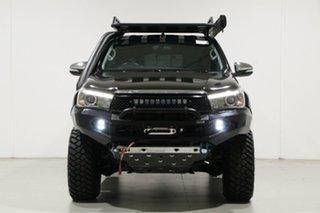 2015 Toyota Hilux GUN126R SR5 (4x4) Black 6 Speed Manual X Cab Utility.