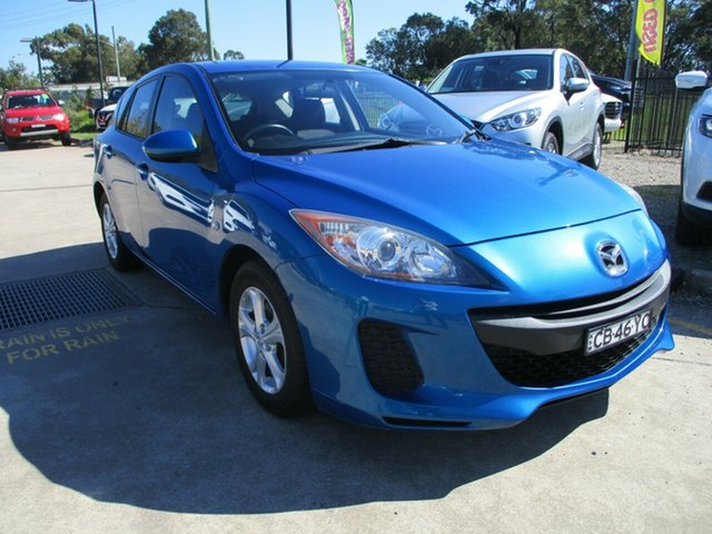 Used Mazda 3 BL10F2 Neo Glendale, 2012 Mazda 3 BL10F2 Neo Blue 6 Speed Manual Hatchback