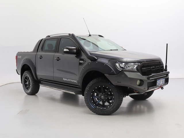 Used Ford Ranger PX MkII MY18 Wildtrak 3.2 (4x4), 2018 Ford Ranger PX MkII MY18 Wildtrak 3.2 (4x4) Grey 6 Speed Automatic Dual Cab Pick-up