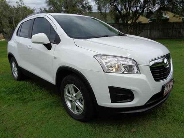 Used Holden Trax TJ MY16 LS Kippa-Ring, 2016 Holden Trax TJ MY16 LS White 6 Speed Automatic Wagon
