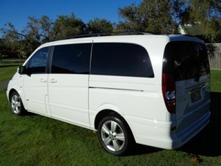 2013 Mercedes-Benz Viano 639 MY12 BlueEFFICIENCY White 5 Speed Automatic Wagon