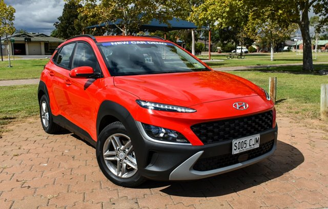 Demo Hyundai Kona Os.v4 MY21 2WD Ingle Farm, 2021 Hyundai Kona Os.v4 MY21 2WD Ignite Flame 8 Speed Constant Variable Wagon