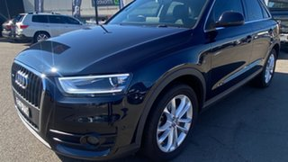 2014 Audi Q3 8U MY14 TFSI S Tronic Quattro Blue 7 Speed Sports Automatic Dual Clutch Wagon
