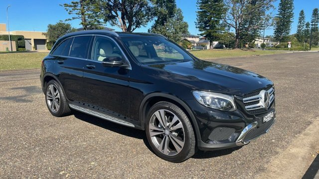 Used Mercedes-Benz GLC-Class X253 807MY GLC250 9G-Tronic 4MATIC Port Macquarie, 2016 Mercedes-Benz GLC-Class X253 807MY GLC250 9G-Tronic 4MATIC Black 9 Speed Sports Automatic Wagon