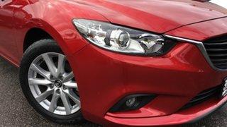 2016 Mazda 6 GJ1032 Sport SKYACTIV-Drive Red/Black 6 Speed Sports Automatic Sedan.