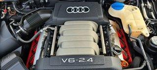 2006 Audi A6 4F Avant Multitronic Black 1 Speed Constant Variable Wagon.