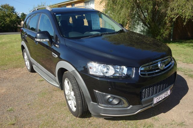 Used Holden Captiva CG MY14 7 AWD LTZ East Maitland, 2014 Holden Captiva CG MY14 7 AWD LTZ Black 6 Speed Sports Automatic Wagon