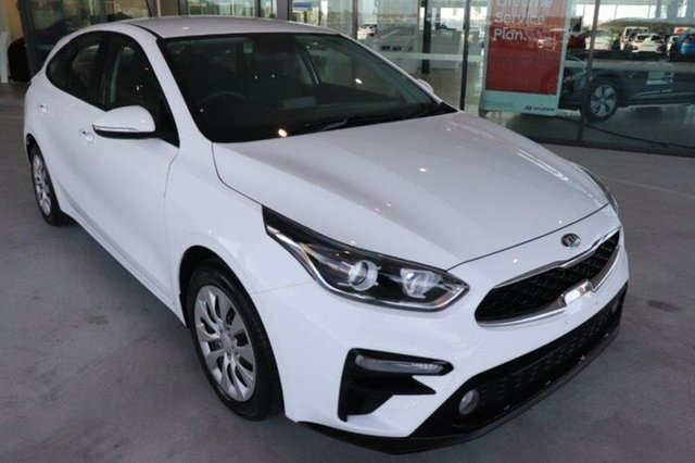 Used Kia Cerato BD MY19 S Springwood, 2019 Kia Cerato BD MY19 S Clear White 6 Speed Sports Automatic Hatchback