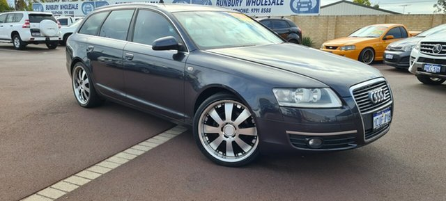 Used Audi A6 4F Avant Multitronic East Bunbury, 2006 Audi A6 4F Avant Multitronic Black 1 Speed Constant Variable Wagon