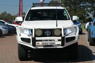 2015 Toyota Landcruiser Prado KDJ150R MY14 GXL White 5 Speed Sports Automatic SUV