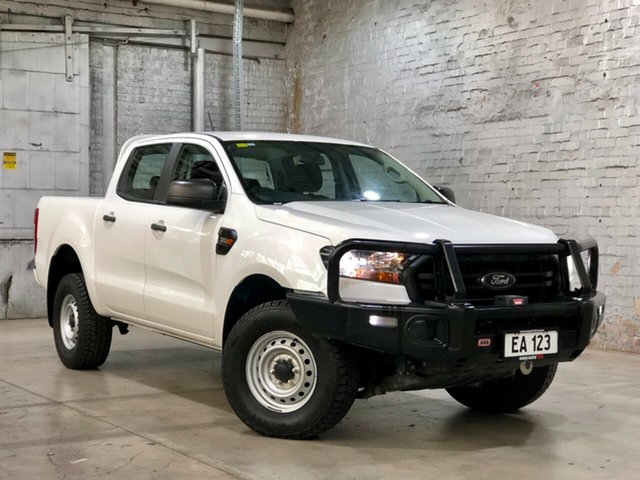 Used Ford Ranger PX MkIII 2019.00MY XL Mile End South, 2019 Ford Ranger PX MkIII 2019.00MY XL White 6 Speed Sports Automatic Double Cab Pick Up