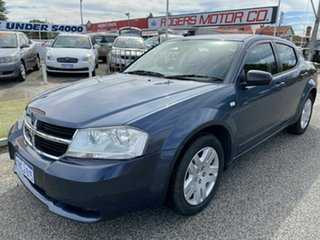 2007 Dodge Avenger JS SX Blue 4 Speed Automatic Sedan.