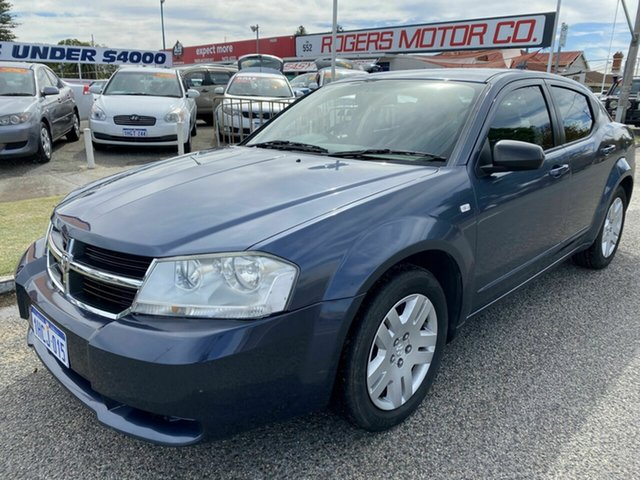 Used Dodge Avenger JS SX Victoria Park, 2007 Dodge Avenger JS SX Blue 4 Speed Automatic Sedan