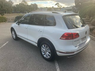 2016 Volkswagen Touareg 7P MY16 150TDI Tiptronic 4MOTION White 8 Speed Sports Automatic Wagon
