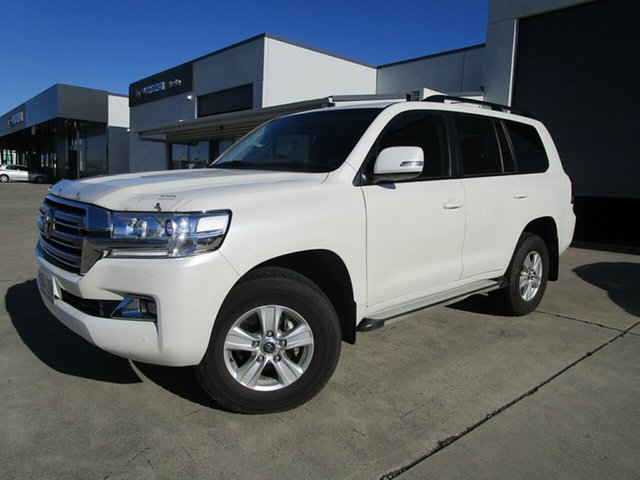 Used Toyota Landcruiser VDJ200R GXL Caboolture, 2019 Toyota Landcruiser VDJ200R GXL White 6 Speed Sports Automatic Wagon