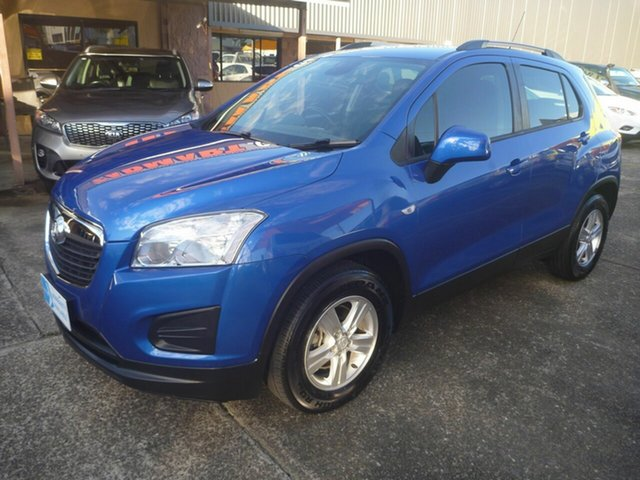 Used Holden Trax TJ MY15 LS Morayfield, 2015 Holden Trax TJ MY15 LS Blue 6 Speed Automatic Wagon