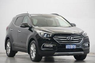 2016 Hyundai Santa Fe DM3 MY16 Elite NKA : PHANTOM BLACK Metallic 6 Speed Sports Automatic Wagon