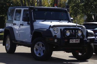 2013 Jeep Wrangler JK MY2013 Unlimited Sport White 5 Speed Automatic Softtop.