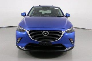 2015 Mazda CX-3 DK Akari (AWD) Blue 6 Speed Automatic Wagon.