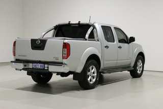 2012 Nissan Navara D40 MY12 ST-X (4x4) Silver 7 Speed Automatic Dual Cab Pick-up