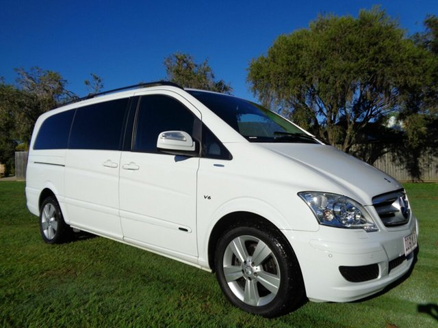 Used Mercedes-Benz Viano 639 MY12 BlueEFFICIENCY Kippa-Ring, 2013 Mercedes-Benz Viano 639 MY12 BlueEFFICIENCY White 5 Speed Automatic Wagon