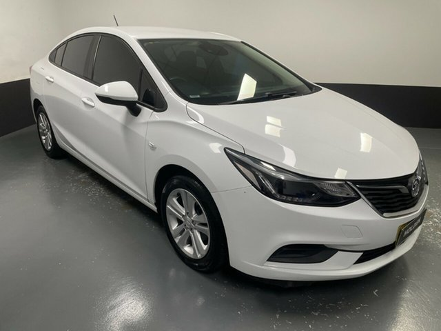 Used Holden Astra BL MY18 LS Hamilton, 2018 Holden Astra BL MY18 LS White 6 Speed Sports Automatic Sedan