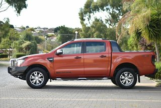 2013 Ford Ranger PX Wildtrak Double Cab Orange 6 Speed Sports Automatic Utility