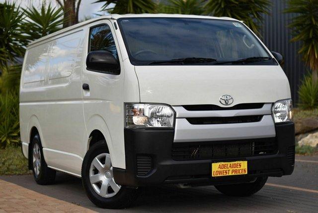 Used Toyota HiAce TRH201R LWB Morphett Vale, 2015 Toyota HiAce TRH201R LWB White 5 Speed Manual Van