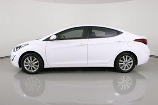 2014 Hyundai Elantra MD Series 2 (MD3) Trophy White 6 Speed Automatic Sedan