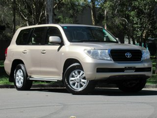 2008 Toyota Landcruiser VDJ200R GXL Gold 6 Speed Sports Automatic Wagon.