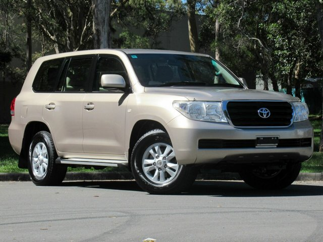 Used Toyota Landcruiser VDJ200R GXL, 2008 Toyota Landcruiser VDJ200R GXL Gold 6 Speed Sports Automatic Wagon