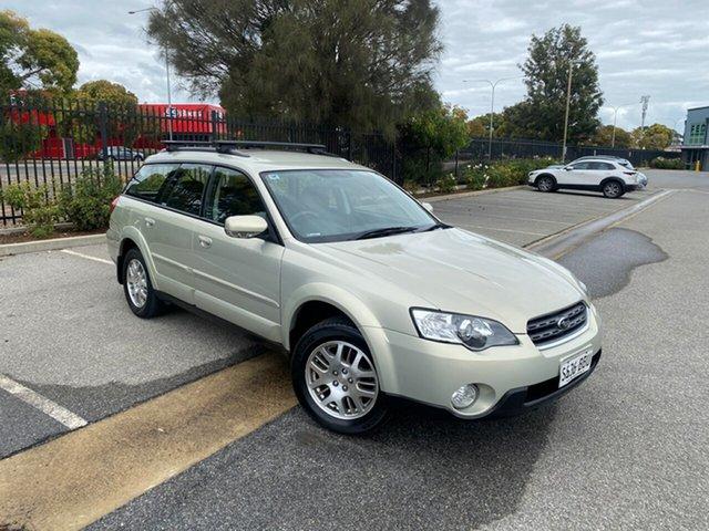 Used Subaru Outback B4A MY06 AWD Mile End, 2006 Subaru Outback B4A MY06 AWD Sunlight Gold Opal 4 Speed Sports Automatic Wagon