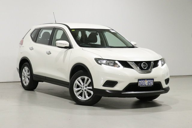 Used Nissan X-Trail T32 TS (FWD) Bentley, 2017 Nissan X-Trail T32 TS (FWD) Pearl White Continuous Variable Wagon