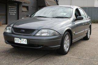 2002 Ford Falcon AUIII SR Grey 4 Speed Automatic Sedan