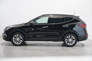 2016 Hyundai Santa Fe DM3 MY16 Elite NKA : PHANTOM BLACK Metallic 6 Speed Sports Automatic Wagon.
