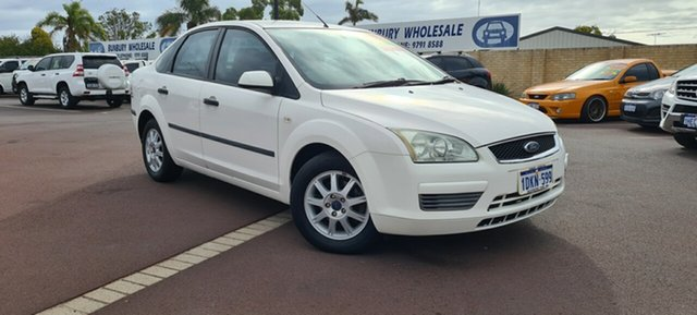 Used Ford Focus LS CL East Bunbury, 2006 Ford Focus LS CL White 4 Speed Sports Automatic Sedan