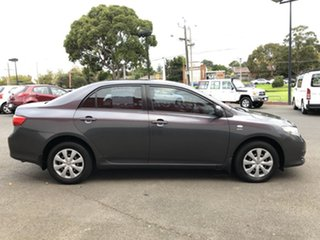 2009 Toyota Corolla ZRE152R Ascent Graphite 4 Speed Automatic Sedan.
