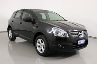 2009 Nissan Dualis J10 TI (4x4) Black 6 Speed Manual Wagon.