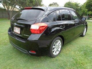 2012 Subaru Impreza G4 MY12 2.0i AWD Black 6 Speed Manual Hatchback