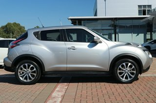 2016 Nissan Juke F15 Series 2 ST X-tronic 2WD Silver 1 Speed Constant Variable Hatchback