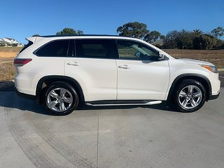 2016 Toyota Kluger GSU50R Grande 2WD White 6 Speed Sports Automatic Wagon