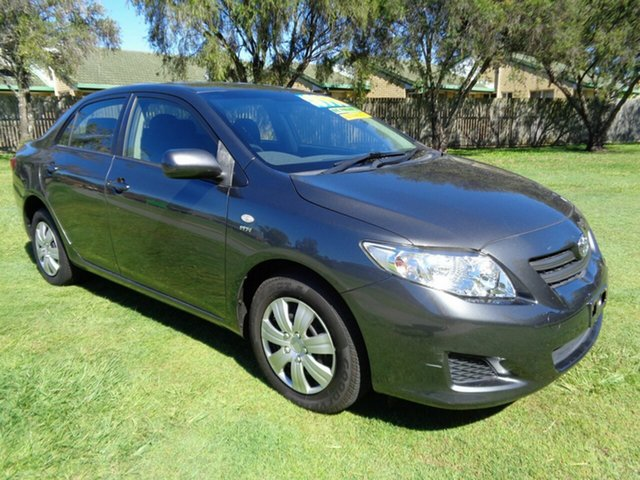 Used Toyota Corolla ZRE152R Ascent Kippa-Ring, 2007 Toyota Corolla ZRE152R Ascent Grey 4 Speed Automatic Sedan