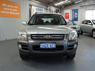 2008 Kia Sportage KM2 LX Grey 4 Speed Automatic Wagon.