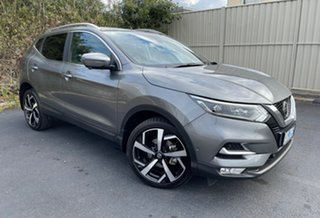 2019 Nissan Qashqai J11 Series 2 Ti X-tronic Gun Metallic 1 Speed Constant Variable Wagon.