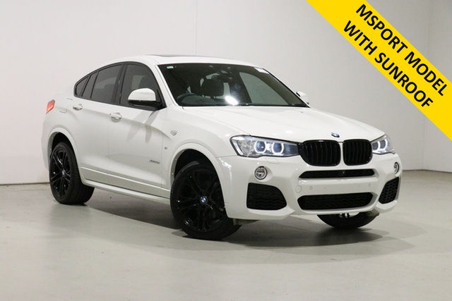 Used BMW X4 F26 MY16 xDrive 35D Bentley, 2016 BMW X4 F26 MY16 xDrive 35D White 8 Speed Automatic Coupe